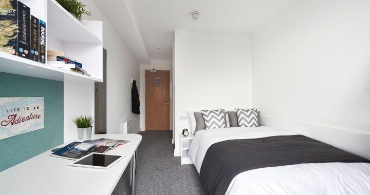 Standard En-Suite, The Glassworks, Leicester, 60 Newarke Street, Leicester