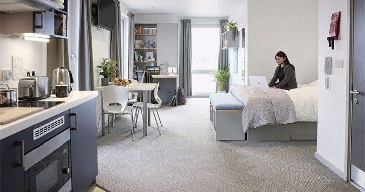 Extra Large Premium Studio with Balcony, Lace Market Studios, Nottingham, Host, 7 Belward Street, Nottingham