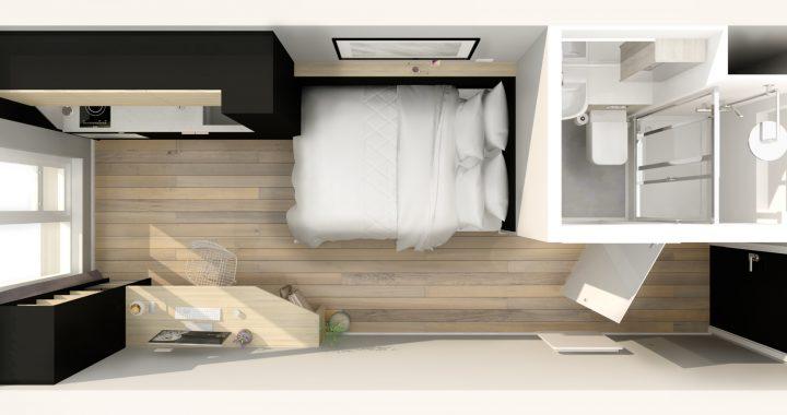 Lite Rooms, Circle Square, Vita Student, 2 Noble Way, Manchester