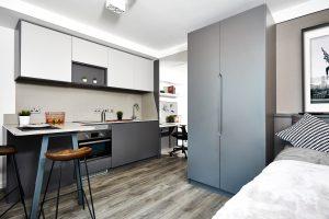 Accessible Studio, Vita Student, 125a Fountainbridge, Edinburgh EH3 9QG