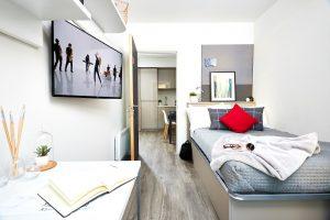 Three Bed, Vita, Telephone House, 40 Charter Square, Sheffield S1 1BA