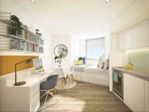 Wren Studio, Student Castle, Osney Ln, Oxford OX1 1TB