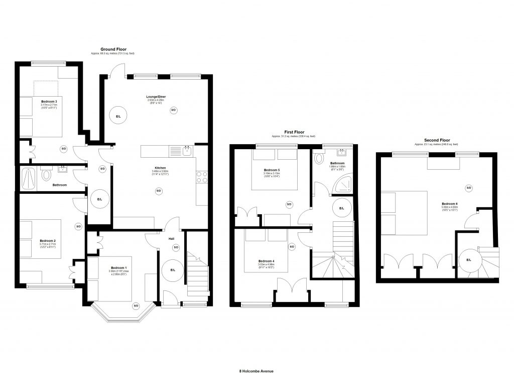 8 Holcombe Road, Manchester, M14 6QX main image